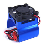 540 Motor Heat Sink W/Fan (BU)