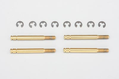 YS-53S-4T - Titanium Coat Shock Shaft (4pcs)
