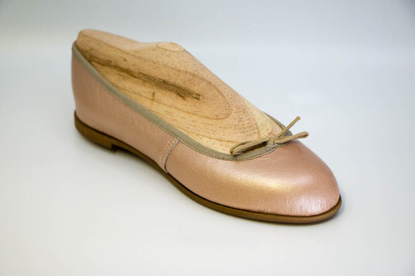 Blush rose gold Ballet flat