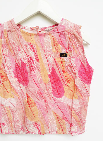 Coral Quill BATWING TEE