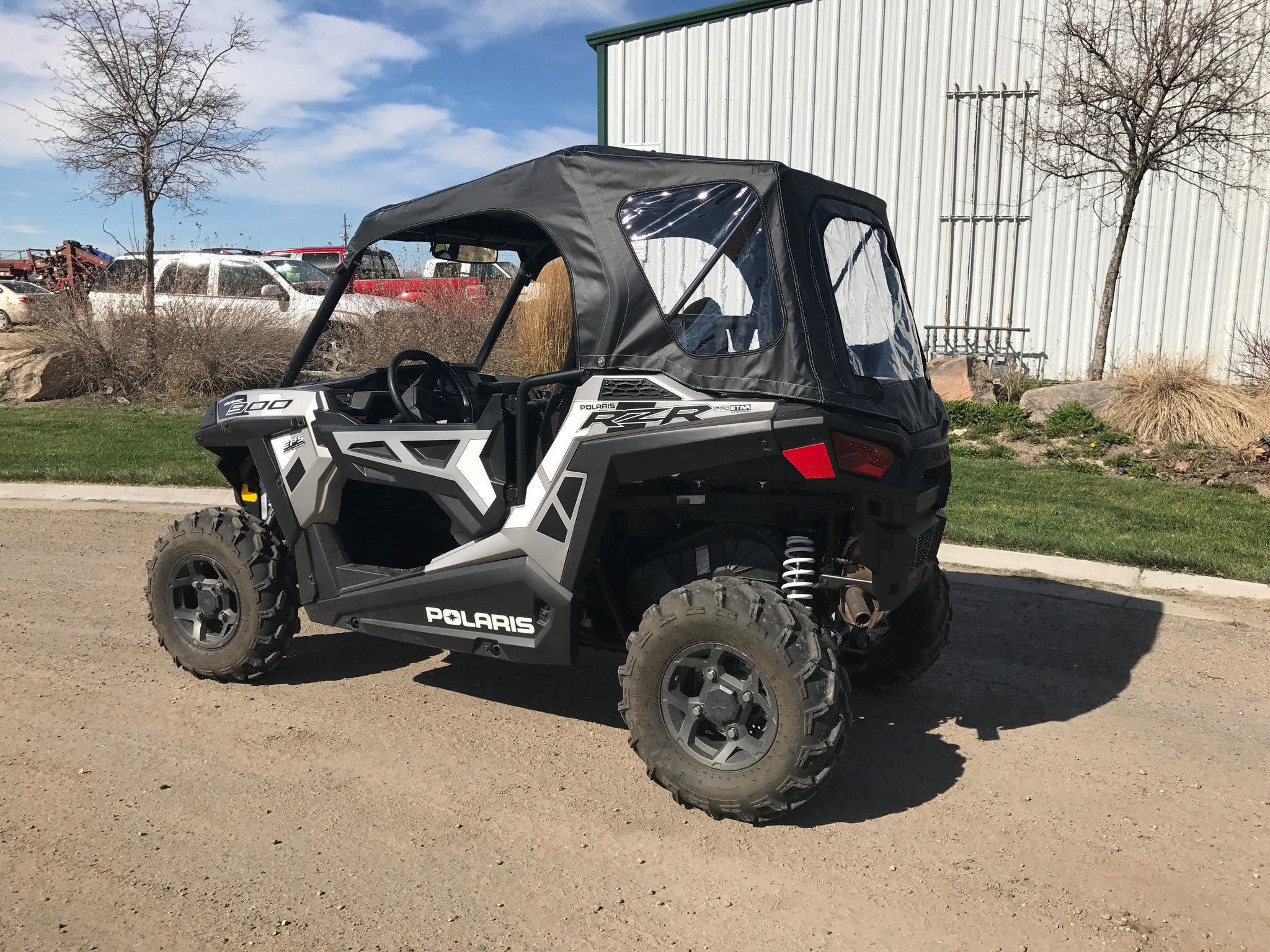 Lid Skins RZR™ 900, 900S, 1000S, Notchback Convertible Roof Top