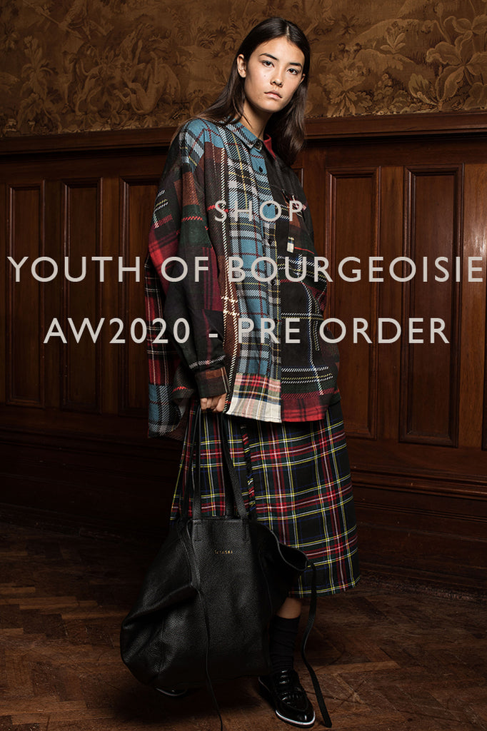 AW2020 YOUTH OF BOURGEOISIE PRE-ORDER