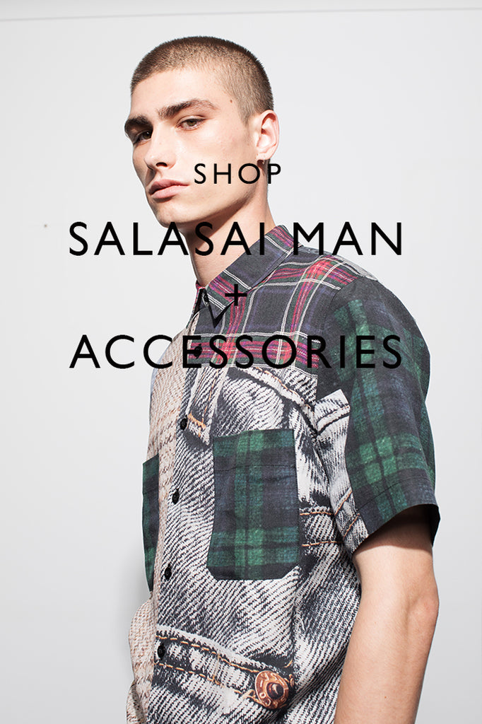 SHOP SALASAI MAN SS2020 + ACCESSORIES