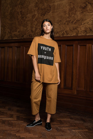 UNISEX BOURGEOISIE T WOMENS - TAN
