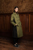 REGALIA TRENCH - KHAKI BLACK