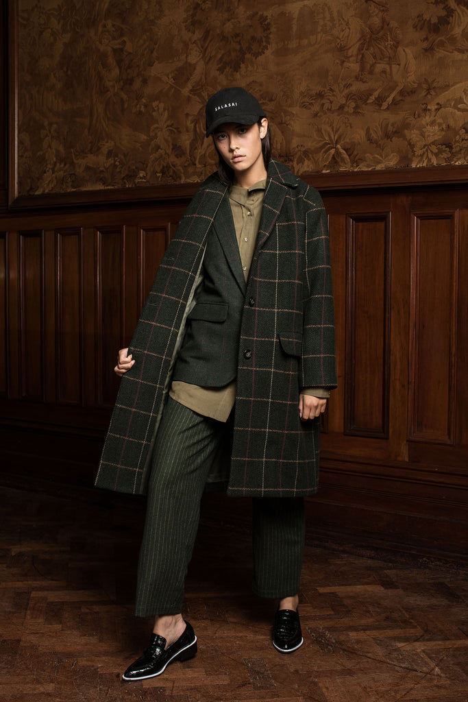 ROYAL COAT - KHAKI CHECK