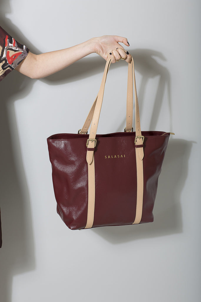 Sorority Leather Tote