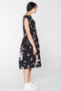 DOMESTIC DRESS - BLACK CHAIN N HOUND PRINT