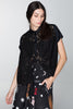 EXTINCTION BLOUSE - BLACK