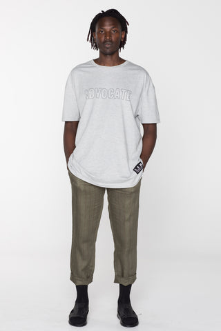 ADVOCATE TEE - GREY MARLE