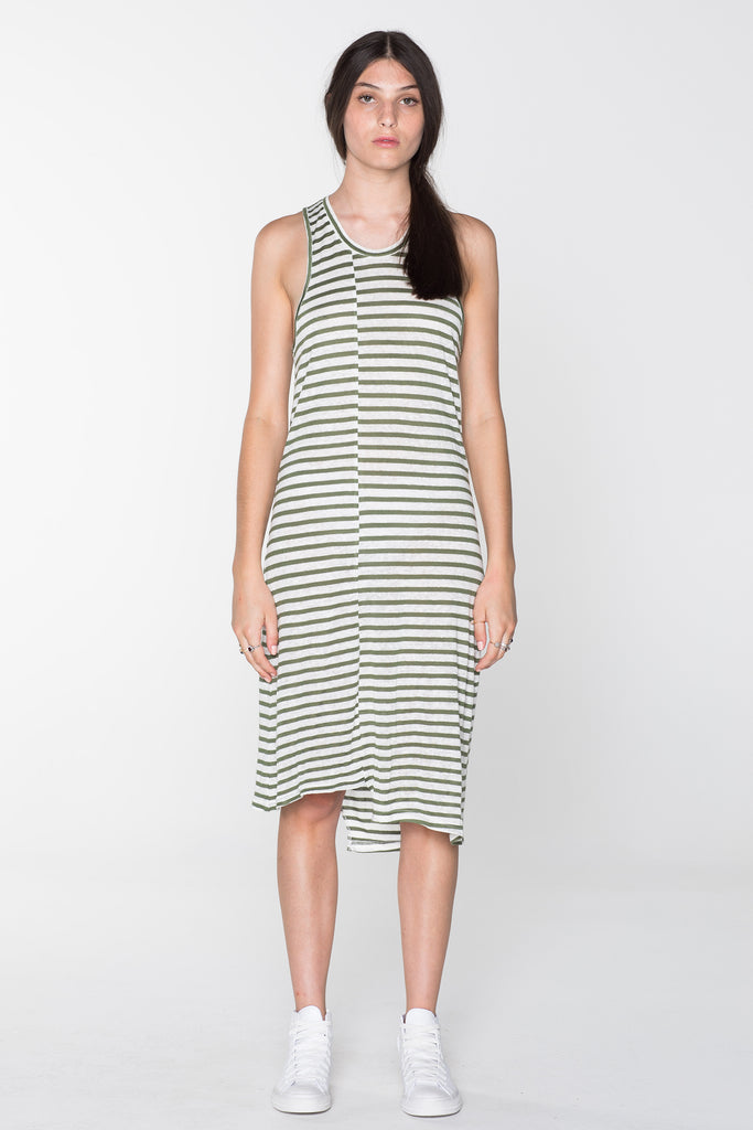 SURVIVAL DRESS- KHAKI STRIPE