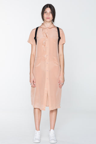 GORILLA SHIRT DRESS - OLD PINK