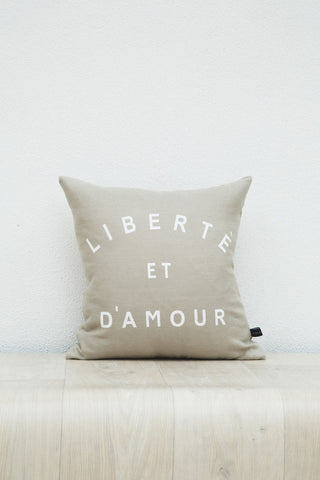 Liberte Cushion-Beige