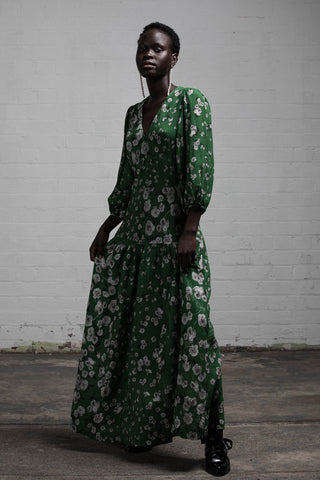 UTOPIA DRESS - GREENERY