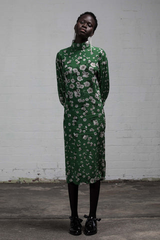 SANCTUARY T-DRESS - GREENERY