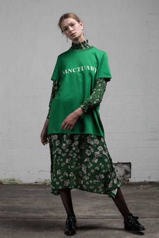 SANCTUARY UNISEX TEE - GREEN