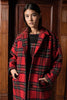 ROYAL COAT - RED TARTAN