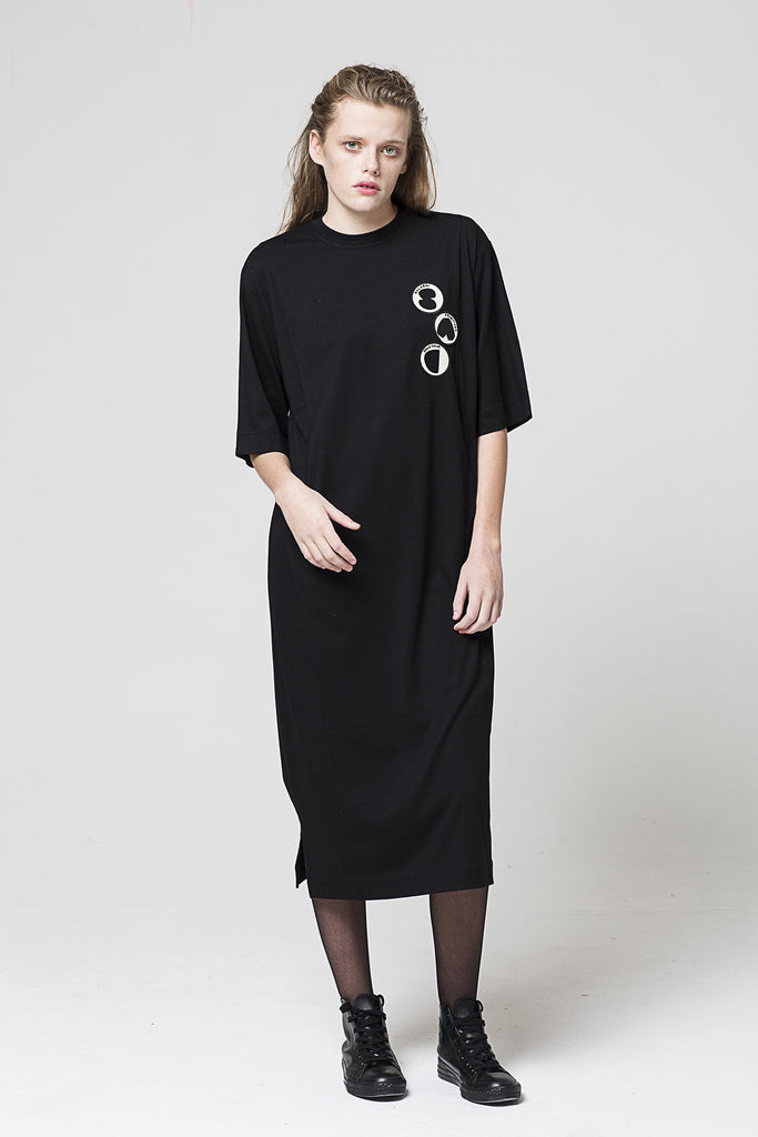 Primitive Play T Dress, Black
