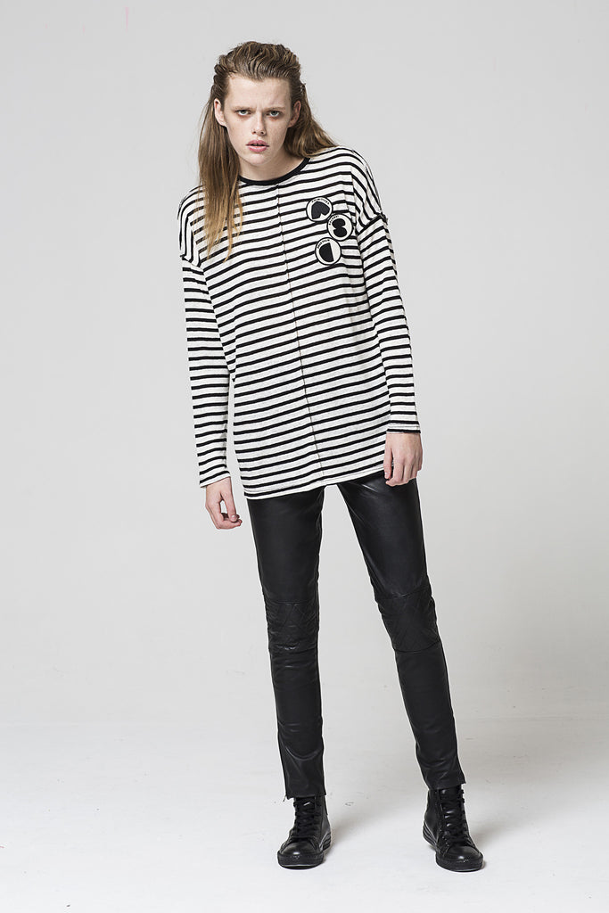 Deconstruct Tee, Stripe