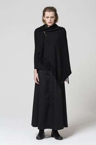 Dead Set Shawl, Black