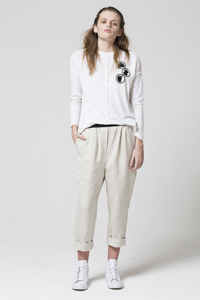 Society Pant, Oyster