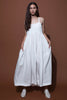 LUCHIA DRESS - WHITE LINEN
