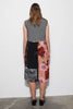 PC TANK DRESS - GREY MARLE/PRINTS