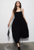 LUCHIA DRESS - BLACK LINEN