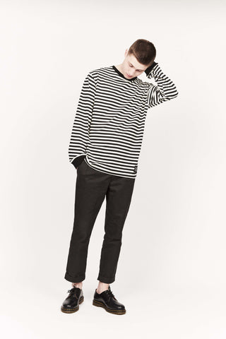 GENUINE L/S TEE 1.0, STRIPE