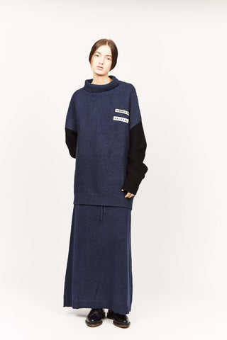 THE DISARRAY JUMPER, NAVY