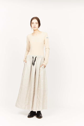 UNTITLED SKIRT, METALLIC