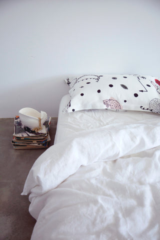 Syndicate Pillowcase Set, White