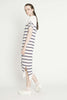 Global Knit Dress, Stripe