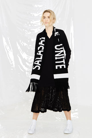 LEISURE SCARF - BLACK