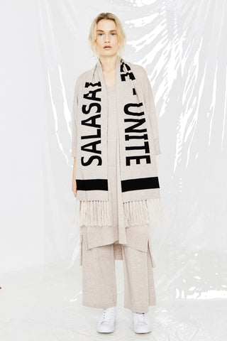LEISURE SCARF - NATURAL