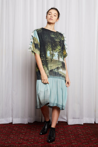 DREAMSCAPE T DRESS DREAMERS PRINT