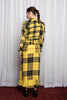 MODERNIST DRESS - DISRUPTION PLAID