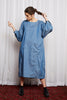 ROMANTICS DRESS - BLUE DENIM TENCIL