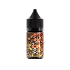 Twelve Monkeys Salts - Nic Salt E-Liquid - Vaping Bear