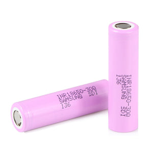 Samsung 30Q 18650 3000mAh 15A Flat Top Battery - Vaping Bear