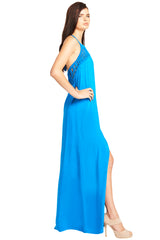 'JEDDA' Maxi Dress, Ocean Blue