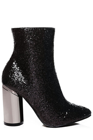 Two Faced Glitter Ankle Boots
