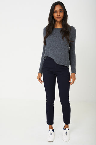 Skinny Fit Jeans in Dark Navy