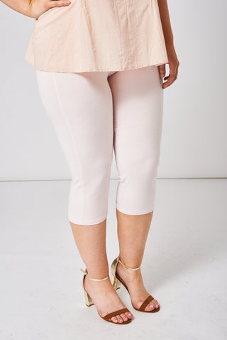 Light Pink Cropped Leggings