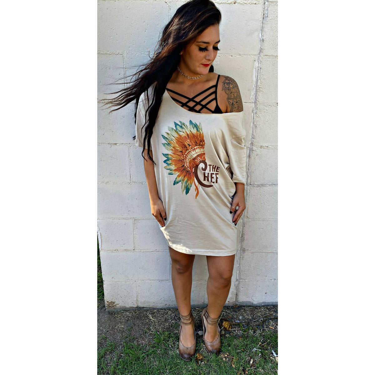 The Chief t-Shirt Dress