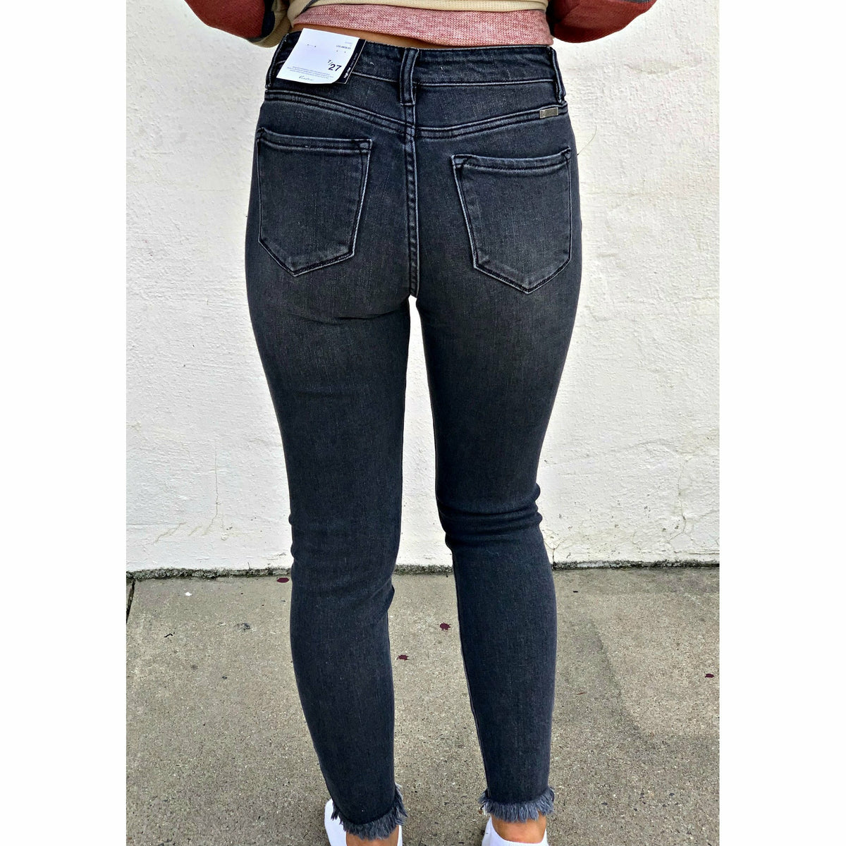 Black faded Kancan Jeans