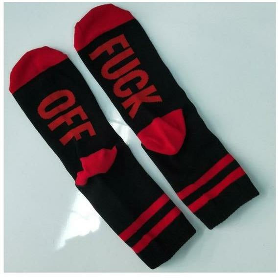 F*ck off Socks (4 colors) - Gabriel Clothing Company