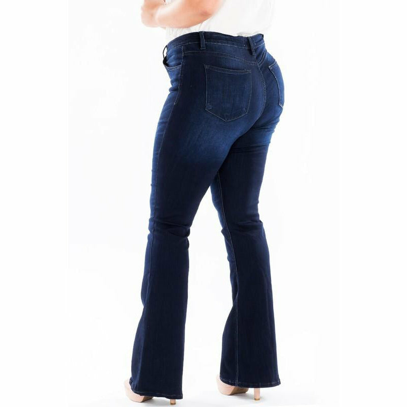 Kancan Plus Size Flare Jean
