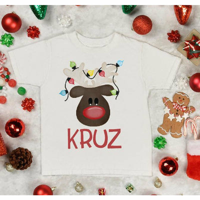 Boy reindeer Custom tee - Gabriel Clothing Company