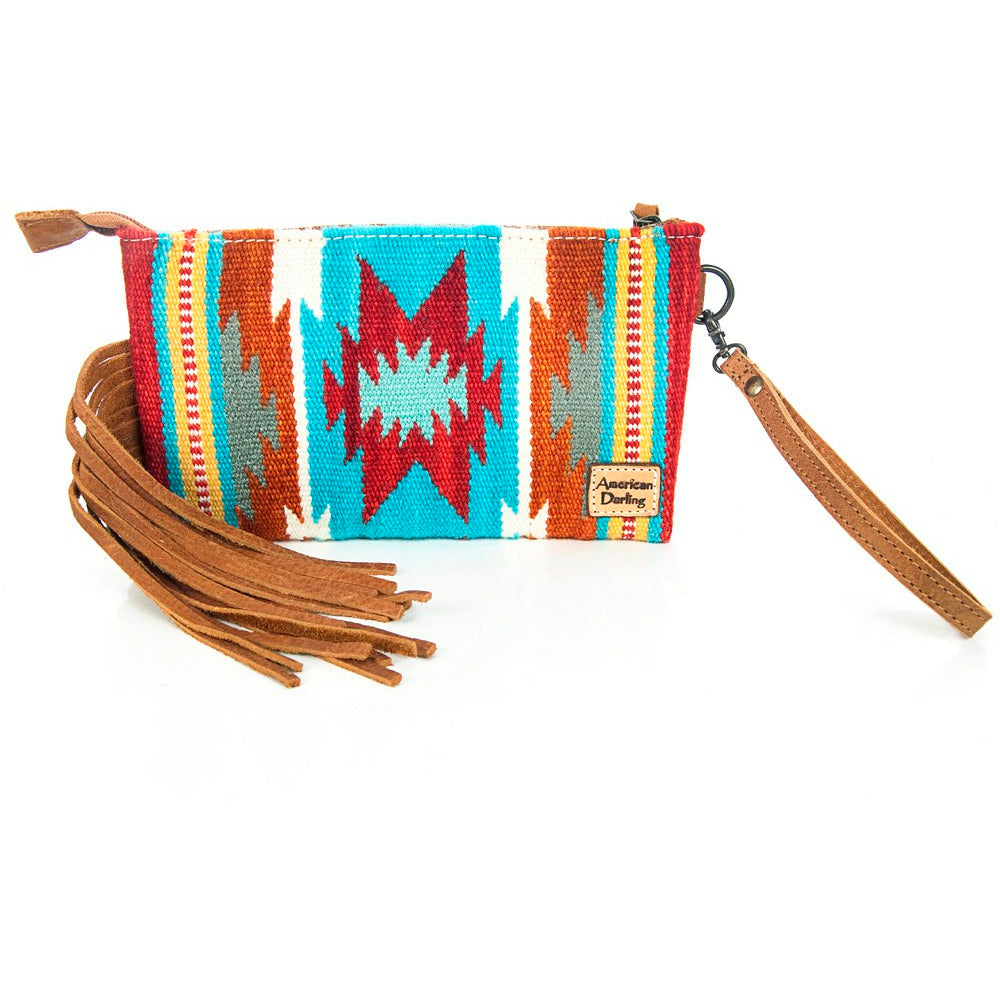 Lex Aztec Saddle Bag Wristlet